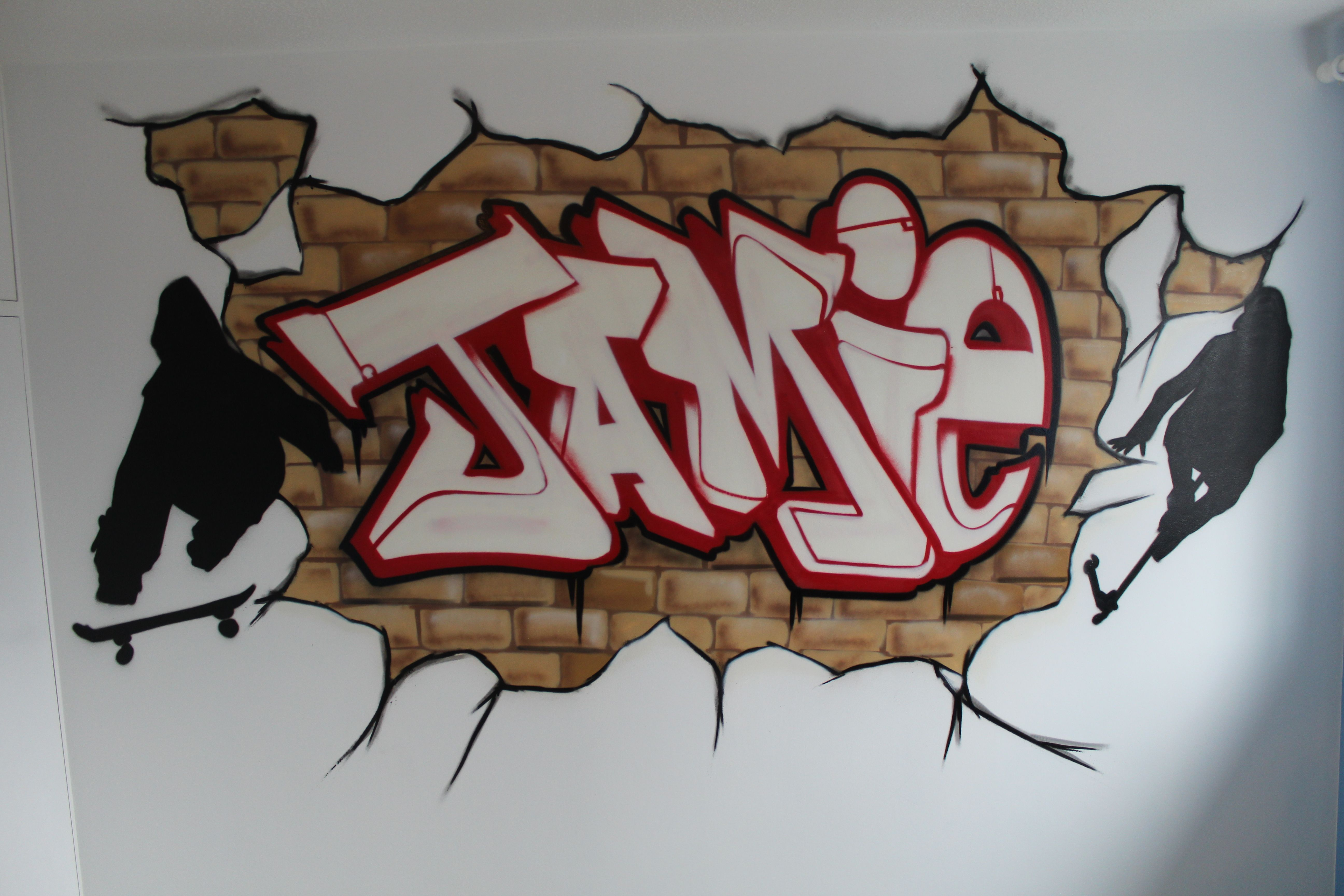 Graffiti Murals For Bedrooms