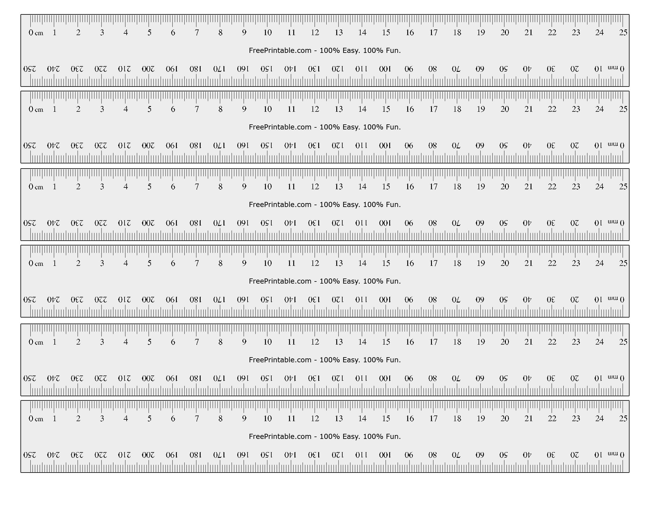 Printable Ruler Actual Size Inches Ruler Actual Size S