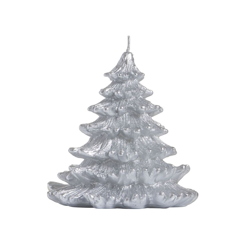 White Christmas Tree Decorations Wilkinsons