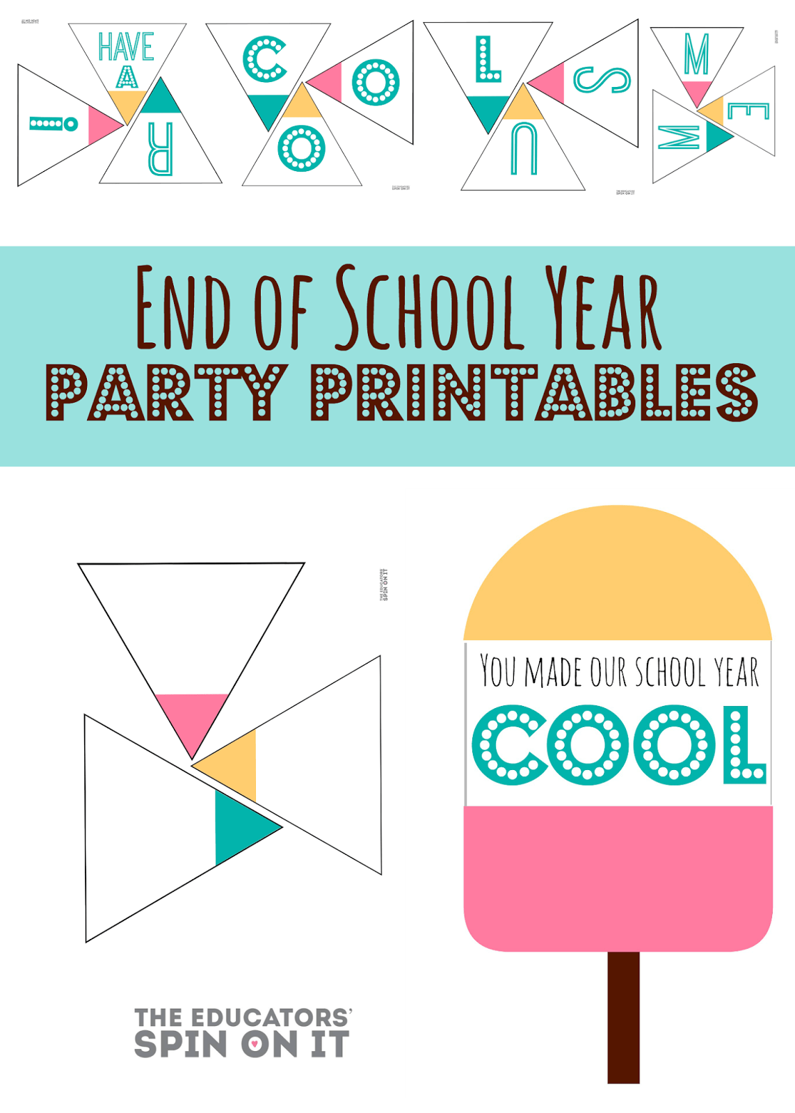 End Of School Year Party Idea For School