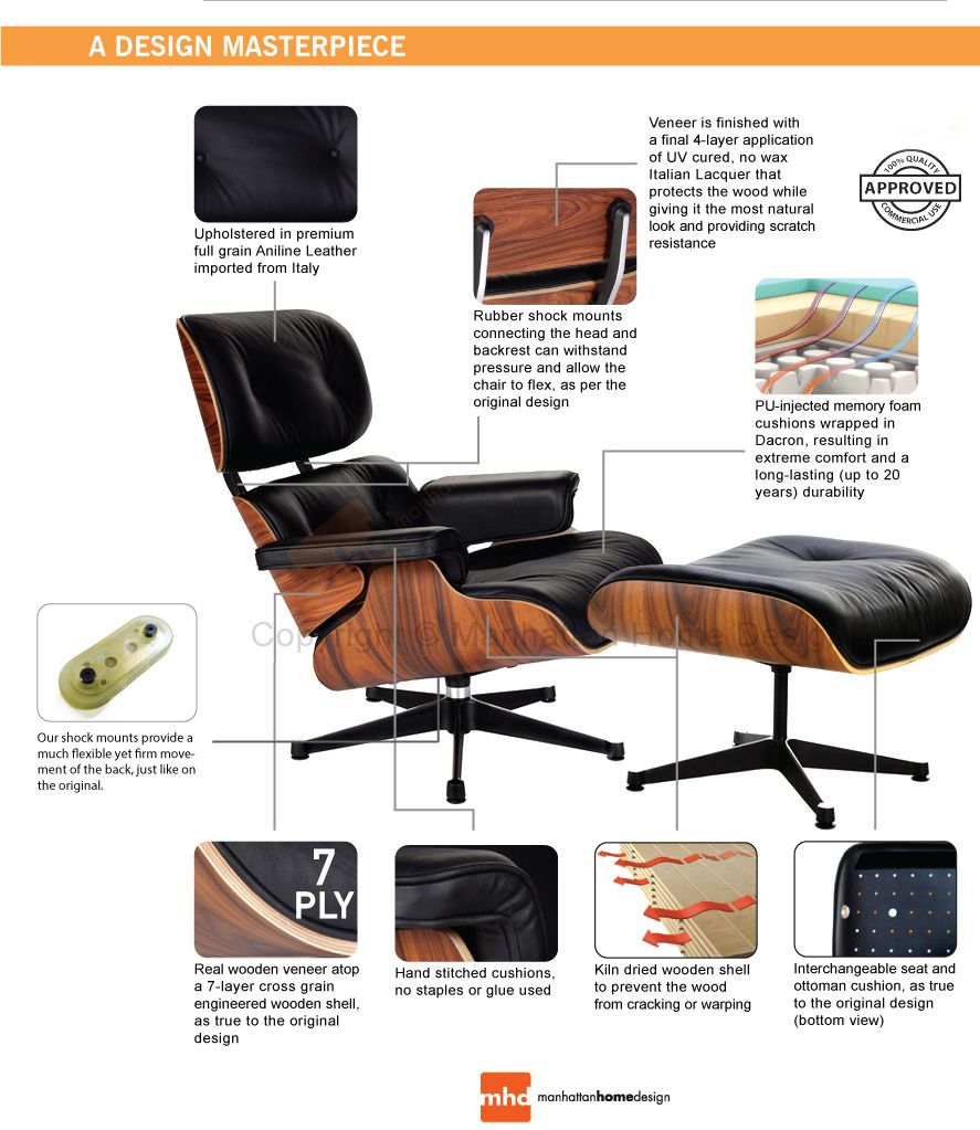 Pleasing Vintage Eames Lounge Chair For Sale Uk Genuine Eames Chair Pabps2019 Chair Design Images Pabps2019Com
