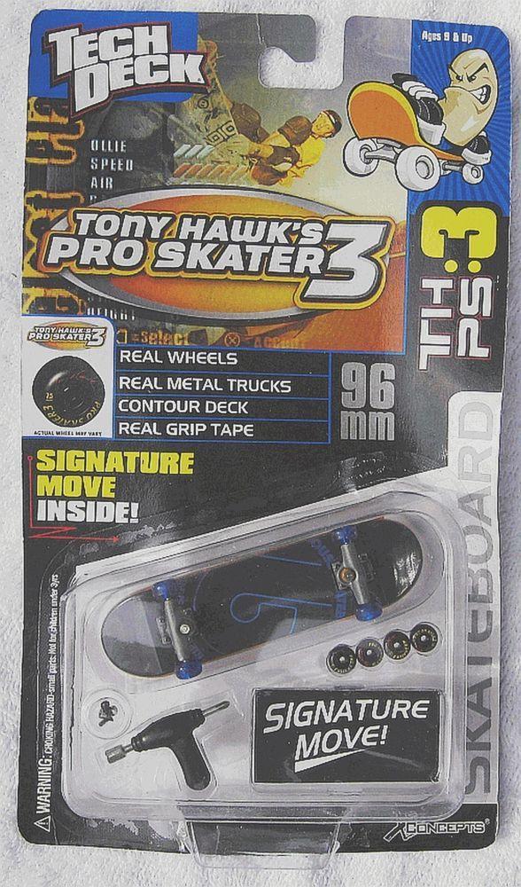 Oldschool original Tech Deck 2001 Tony Hawk Pro Skater 3