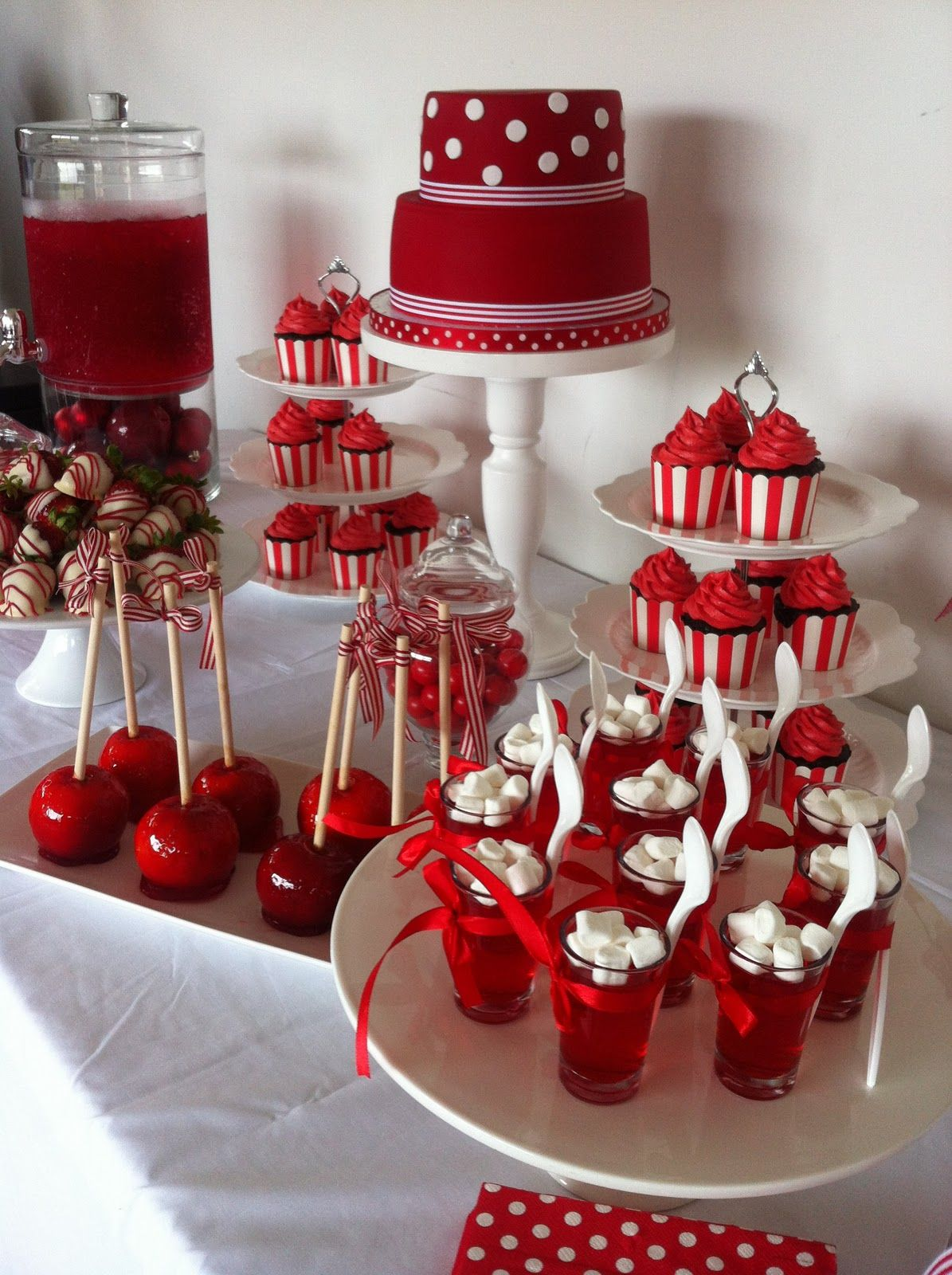 Red & White Party time Pinterest Quinceanera ideas