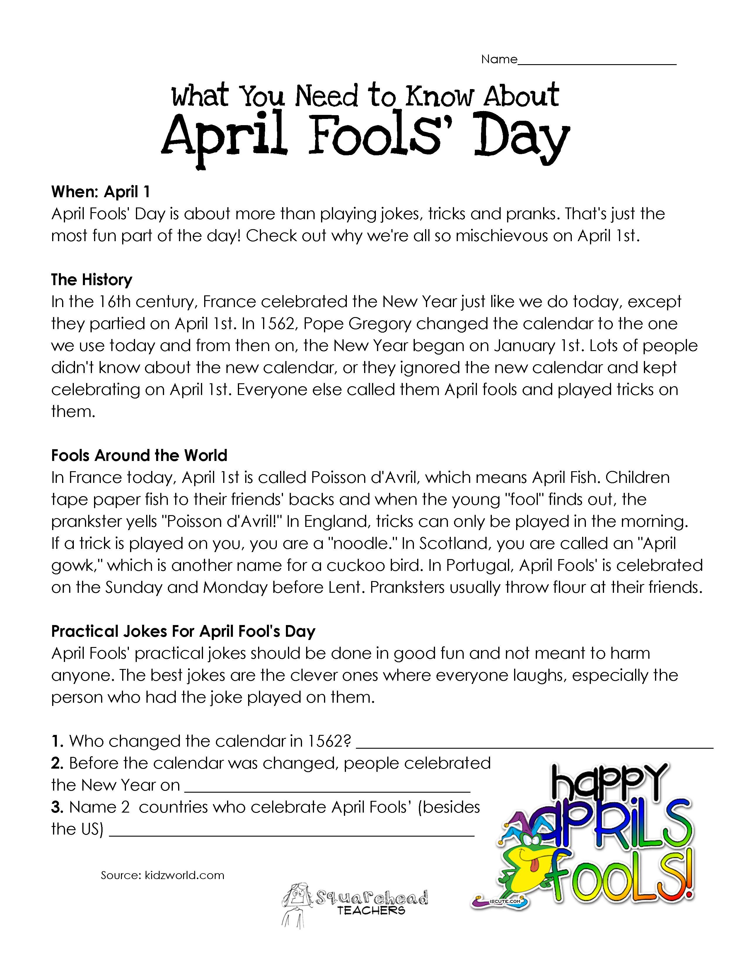 Best 25 April Fools Day History Ideas