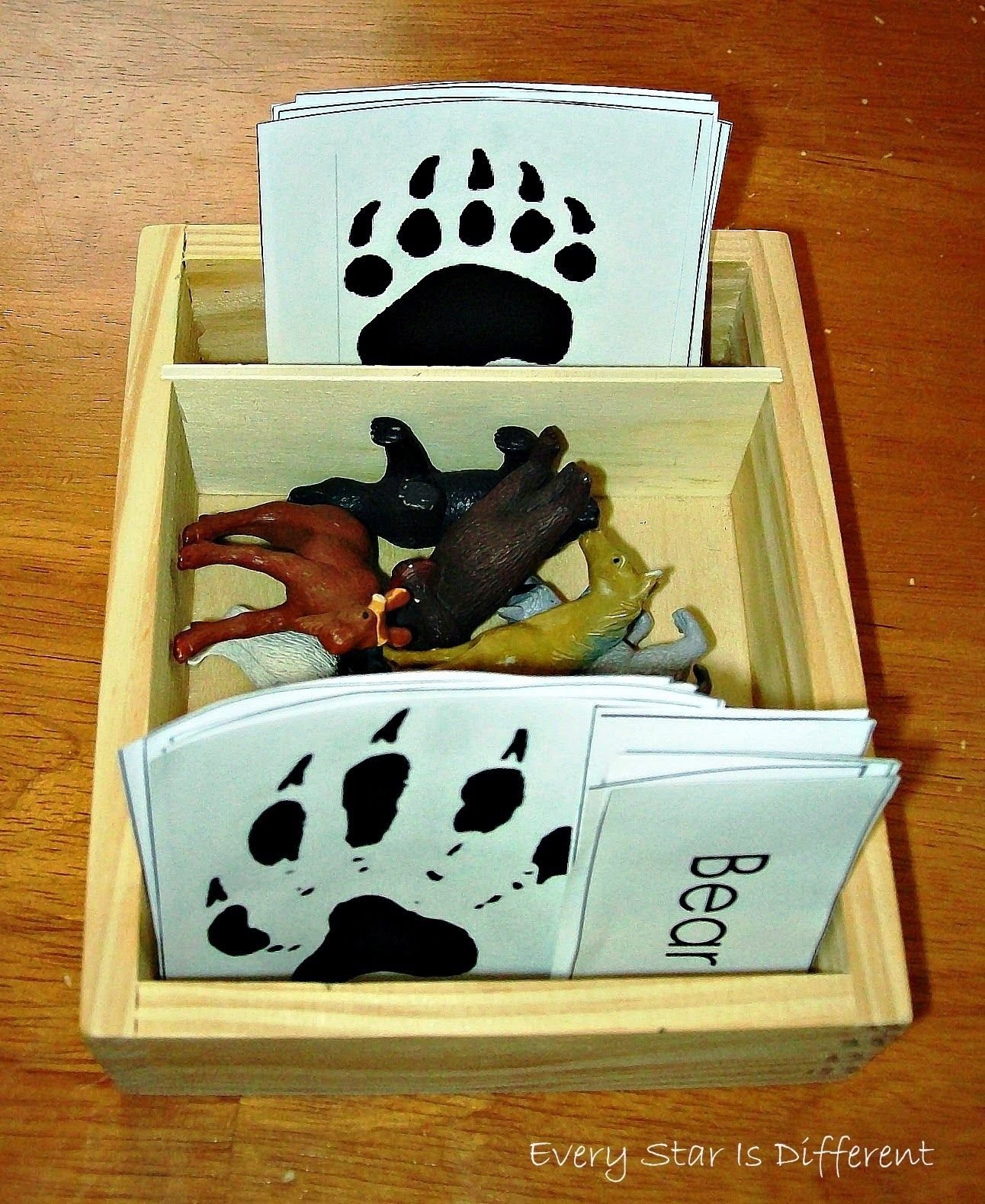 Montessori Nature Free Animal Printables Klp Linky Party