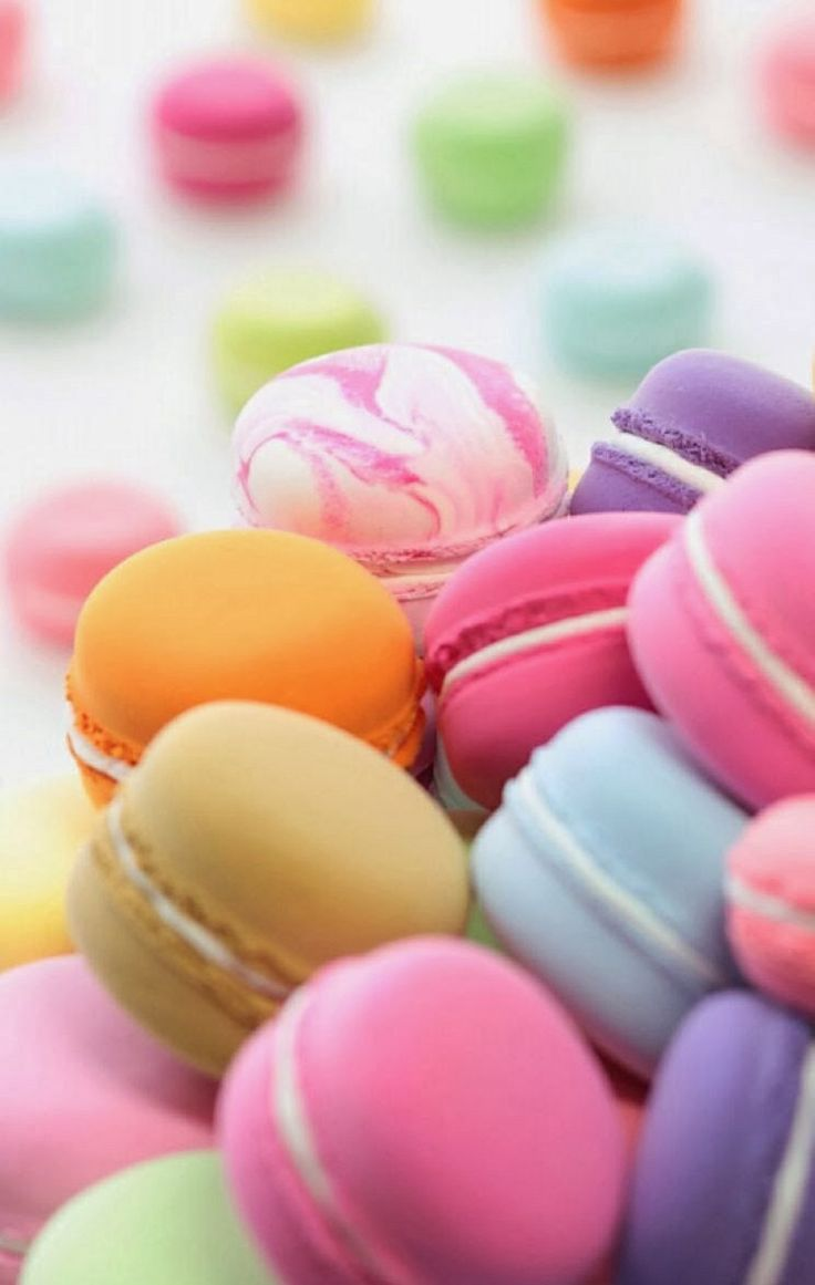 properprintables  macaron wallpaper download | printed