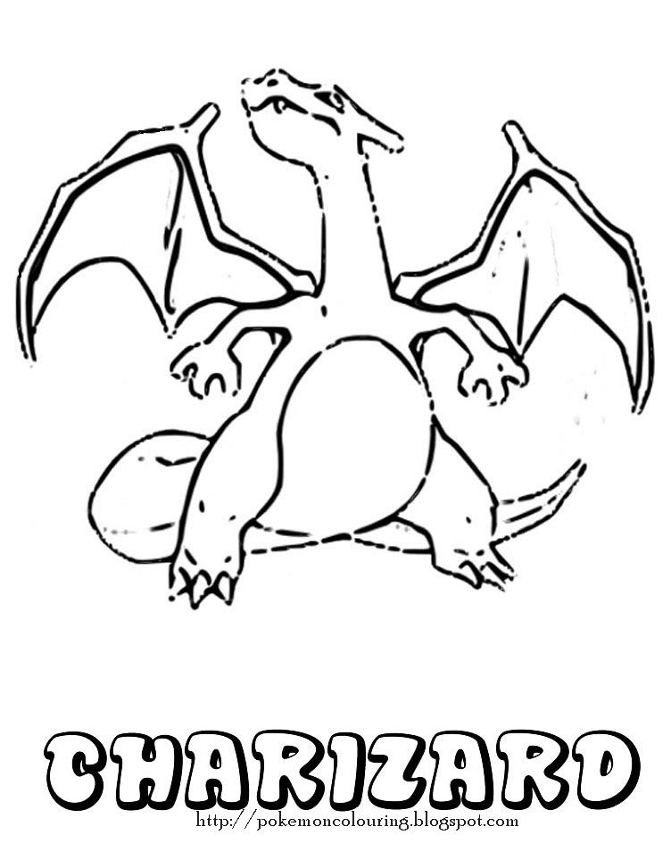 charizard coloring pages pinterest
