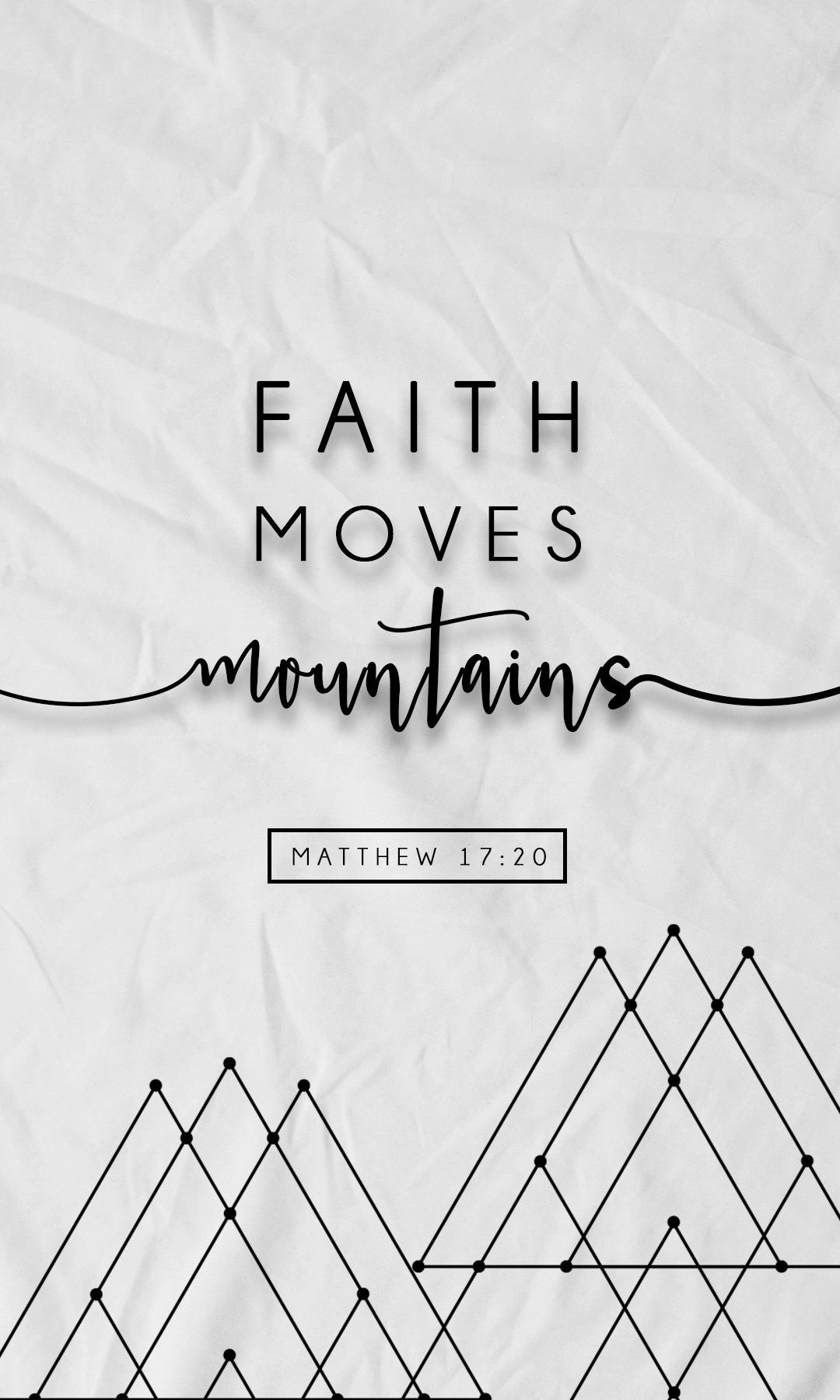 Faith Moves Mountains Free Iphone Wallpapers From Prone