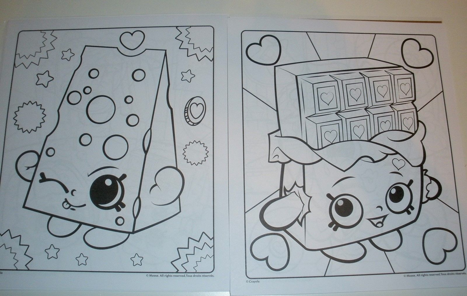 Coloring Pages Of Shopkins Character Color Pgs For Babysitting