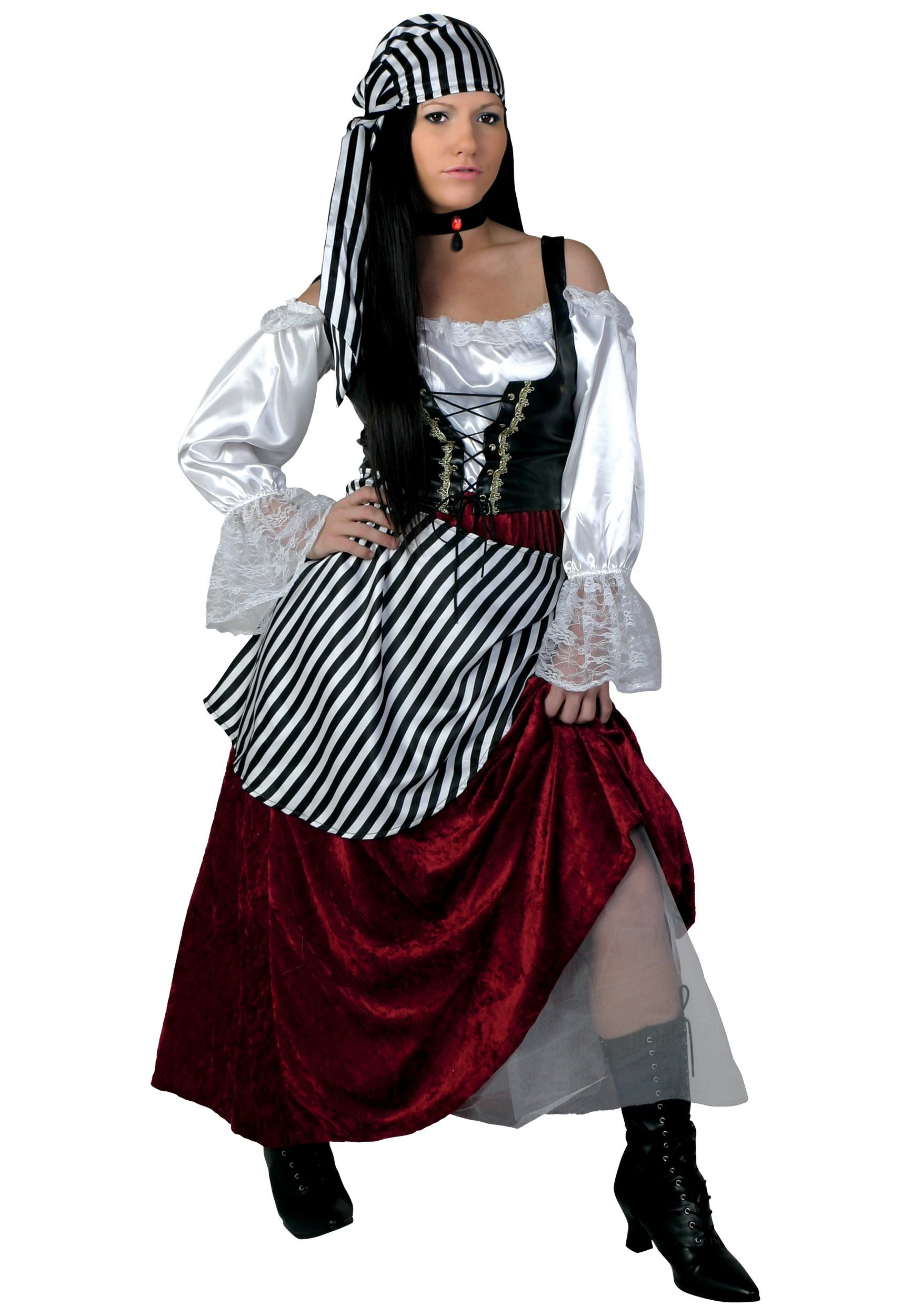 Plus Size Deluxe Pirate Wench Costume sewing Pinterest