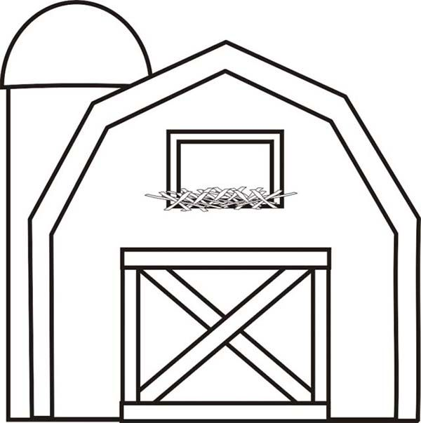 red barn coloring page colouring pictures of farm animals google