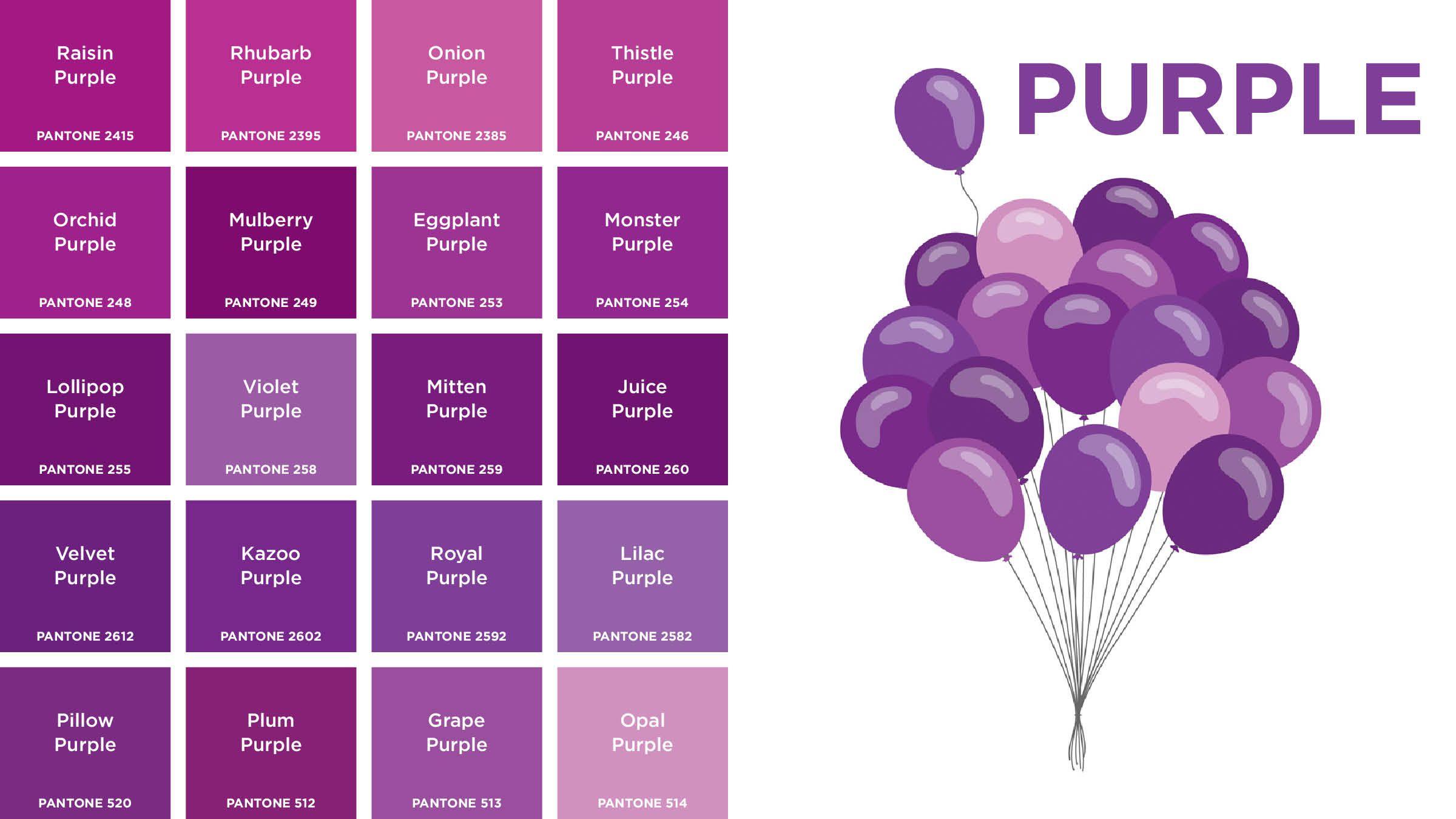 Purple Colors Names