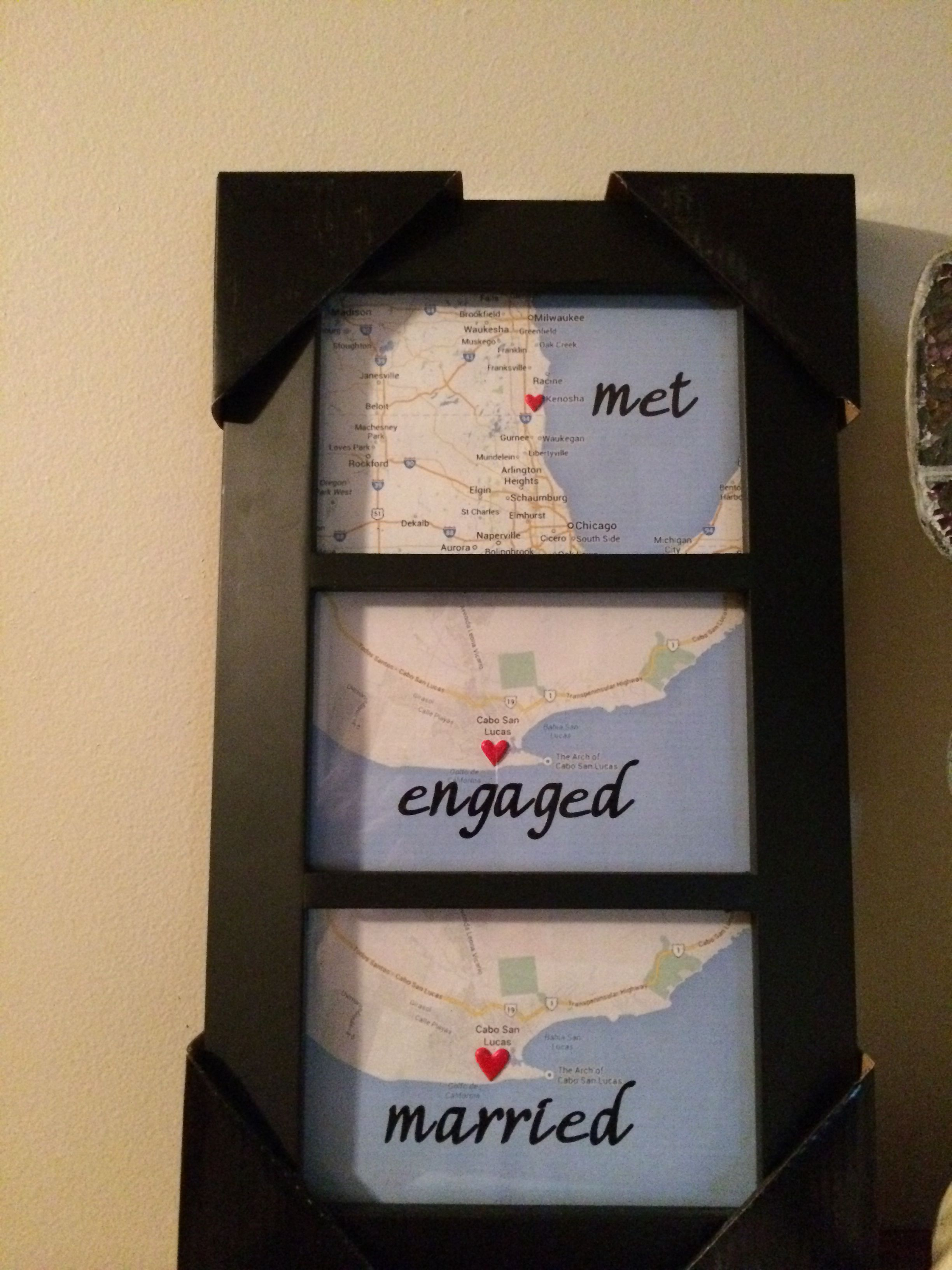 Found this idea on Pinterest, loved it! My Hubby