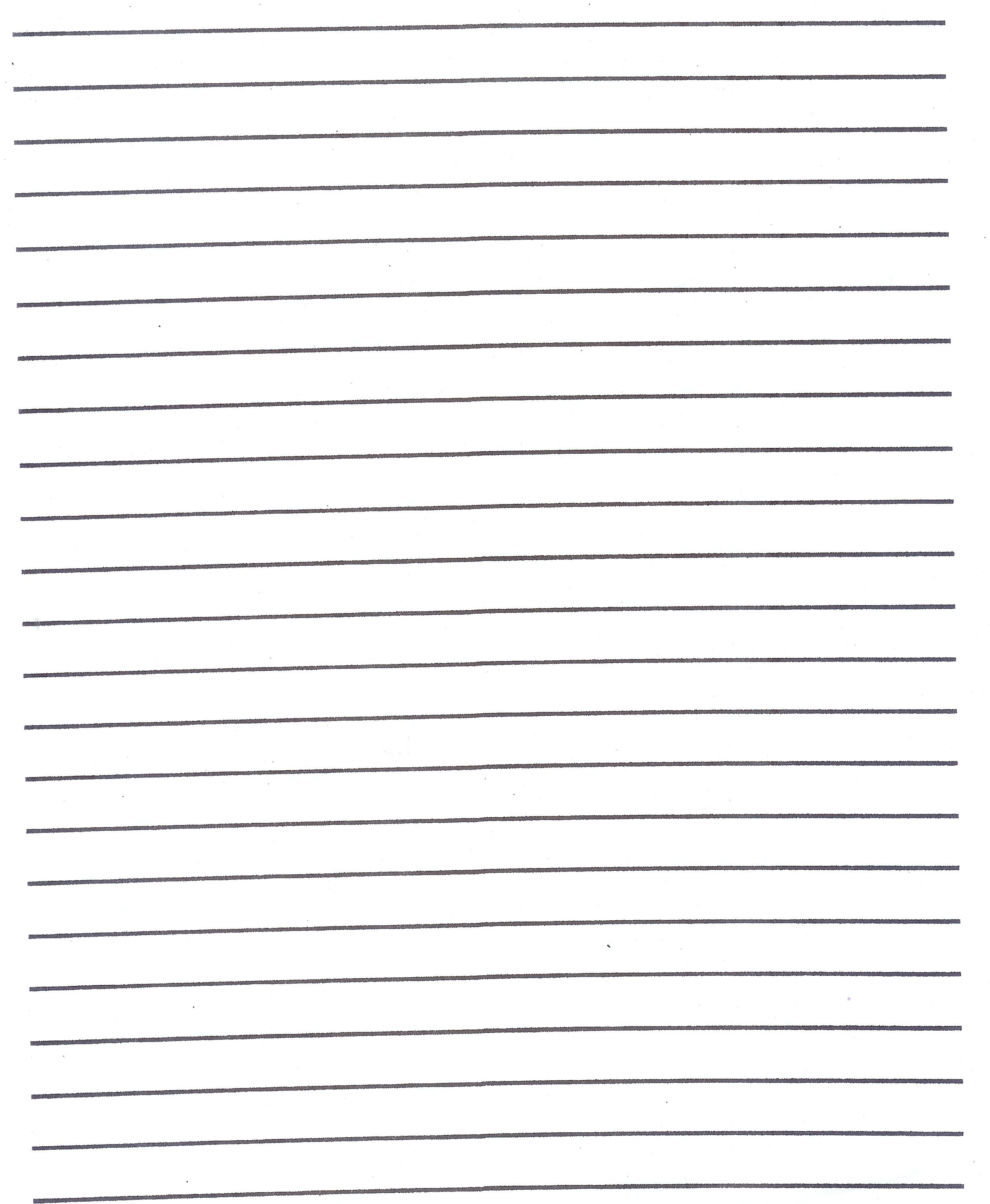 Lined Paper Template Kids Primary Handwriting Paper All