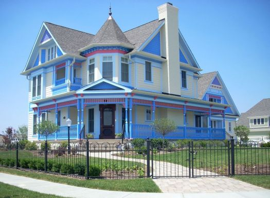 Painted Lady House Exterior Color The Wealthy Neighborhoods Of Indianapolis Indiana Higley