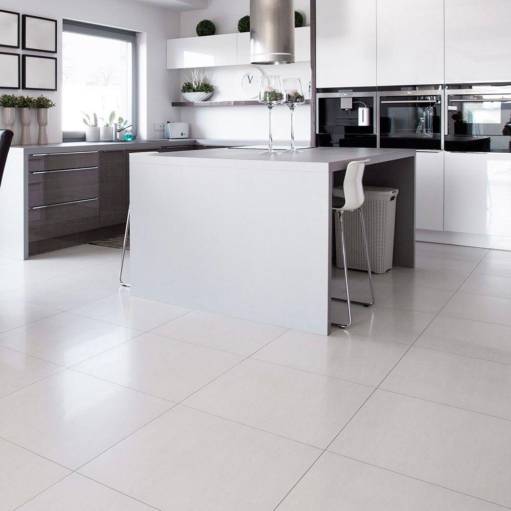 gooddesign white porcelain floor tiles