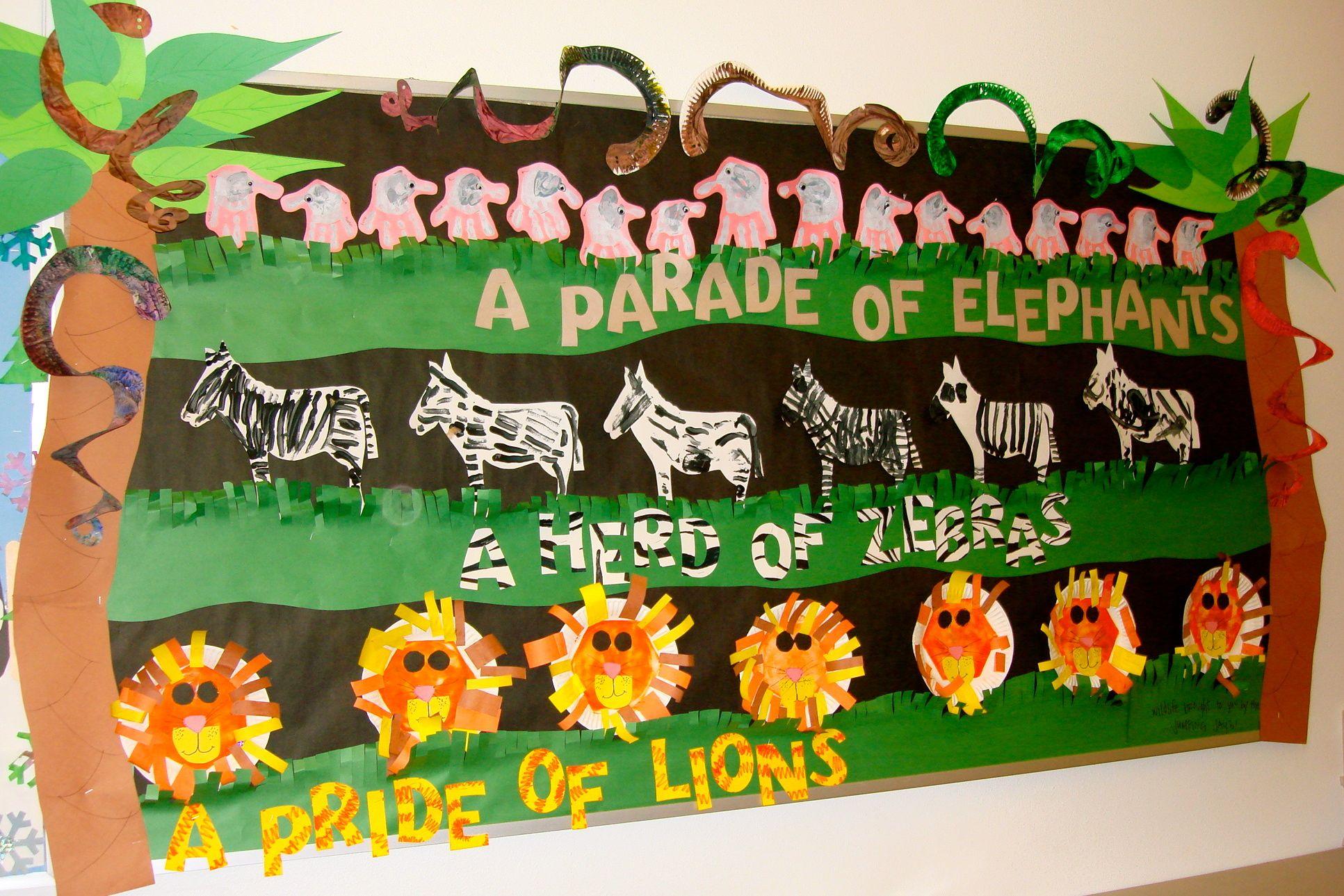 Preschool Art Safari