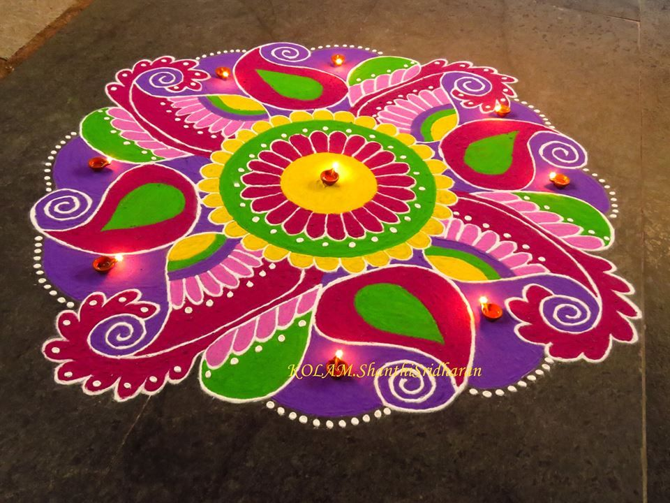 handmade diwali decoration Google Search rangoli