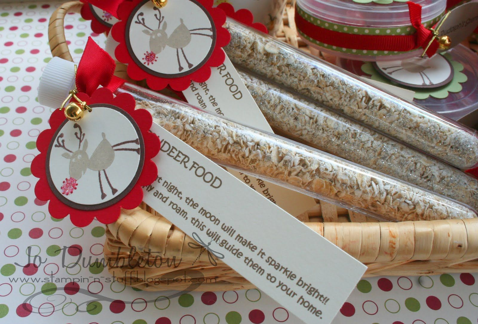 christmas craft fair projects Magic Reindeer Food