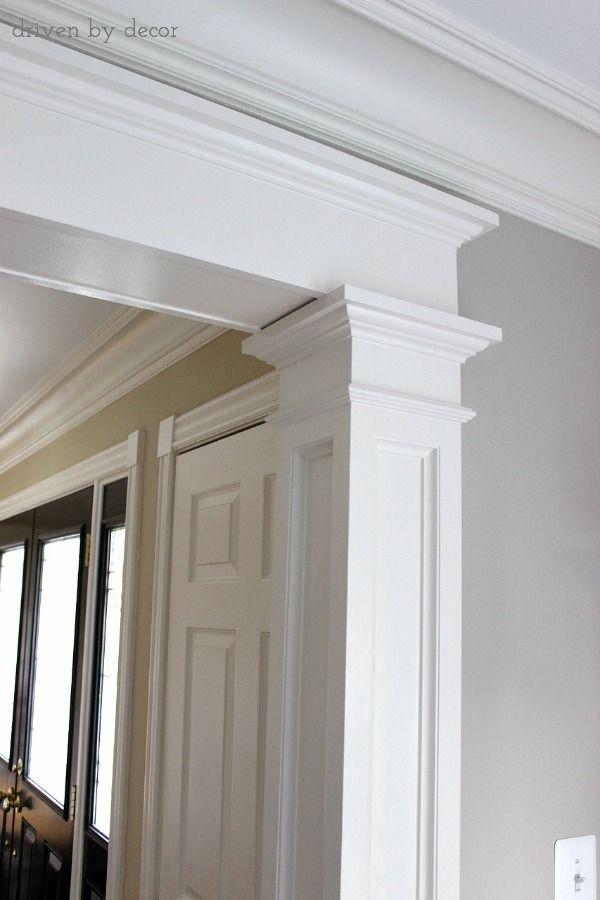 Doorway Molding Design Ideas Moldings House And Doors