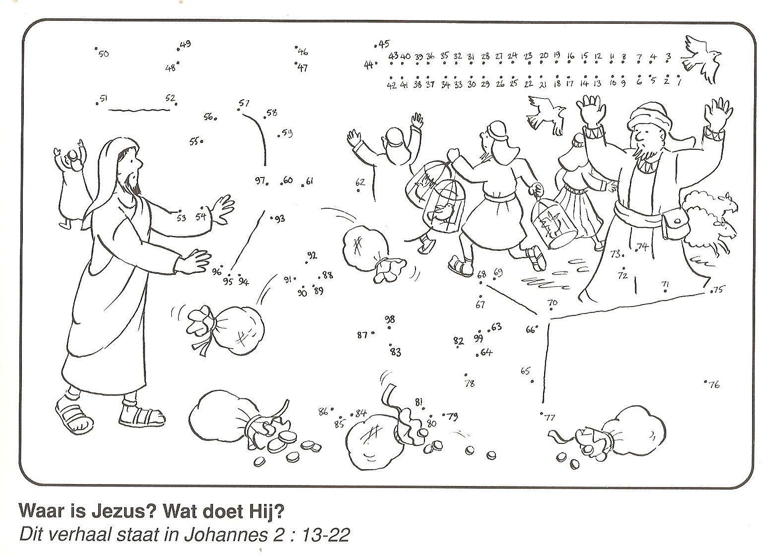 Waar Is Jezus Wat Doet Hij Tempelreiniging Van Stip Naar
