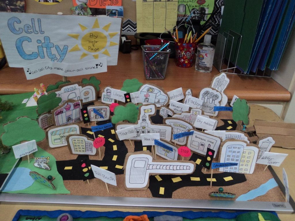 Ch 6th Grade Cell City Project