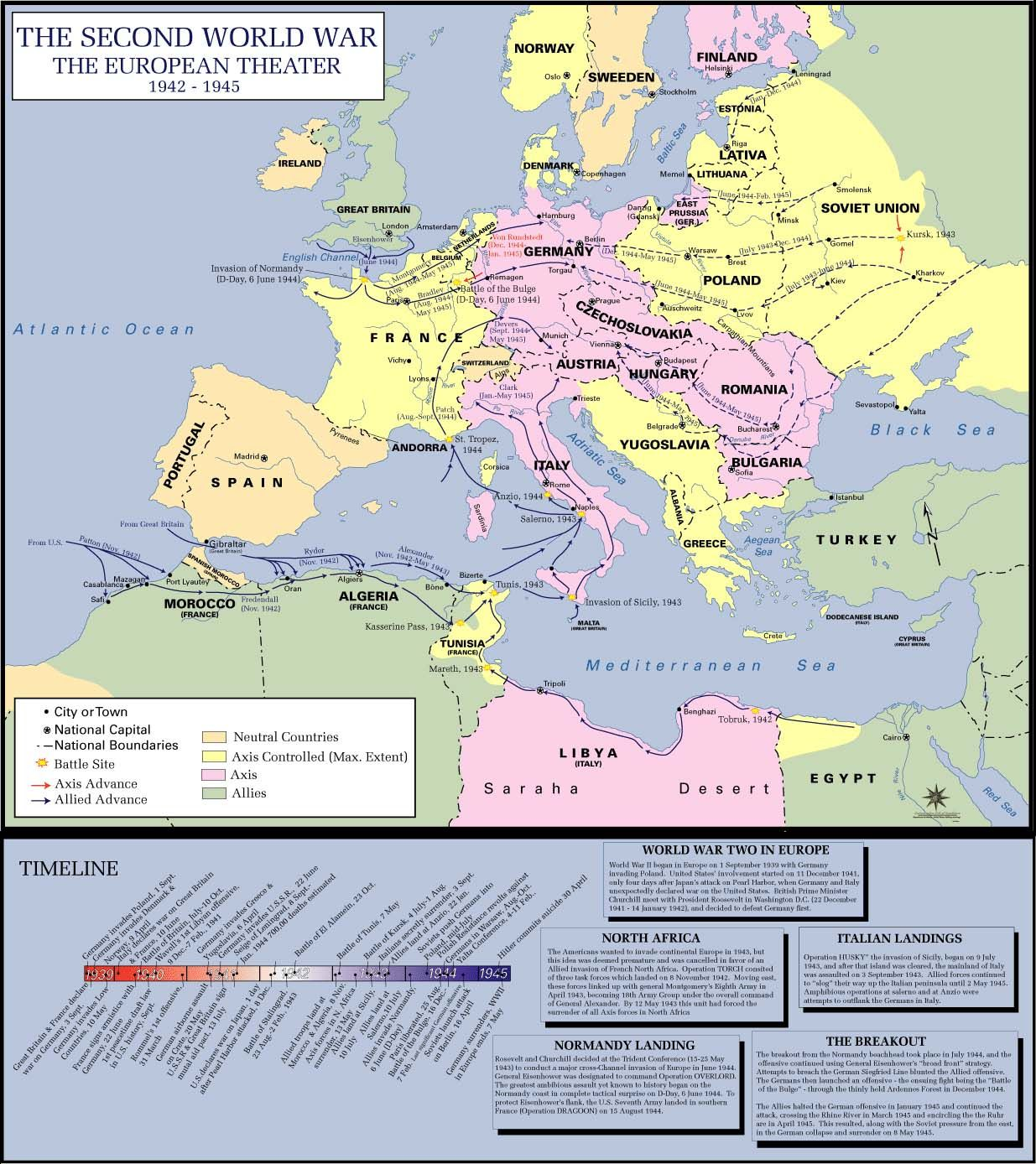 World War 2 Maps