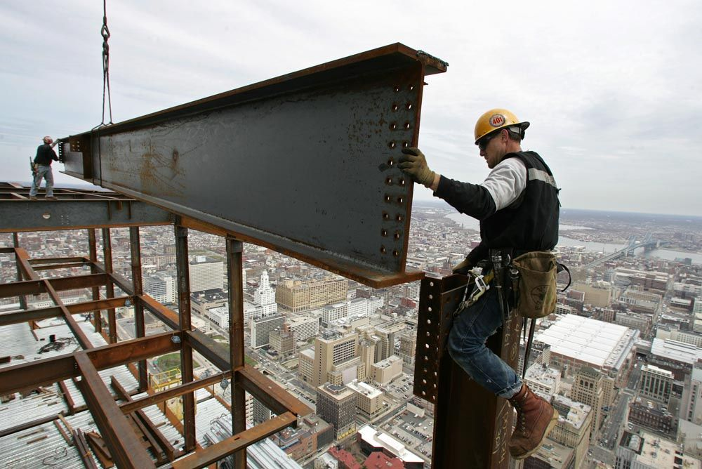 iron workers Boomers trade Pinterest Architects