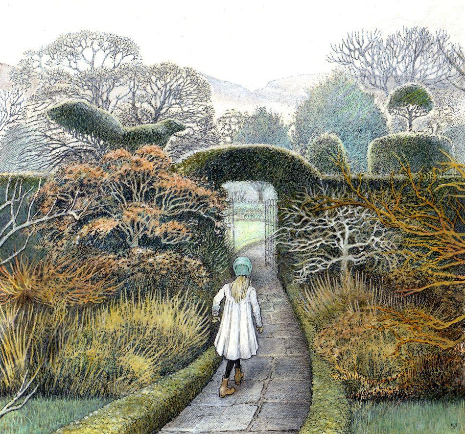 From THE SECRET GARDEN by Frances Hodgson