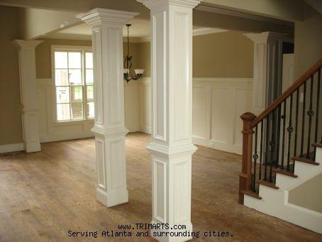 Interior Column On Pinterest Interior Columns Columns And Craftsman Columns