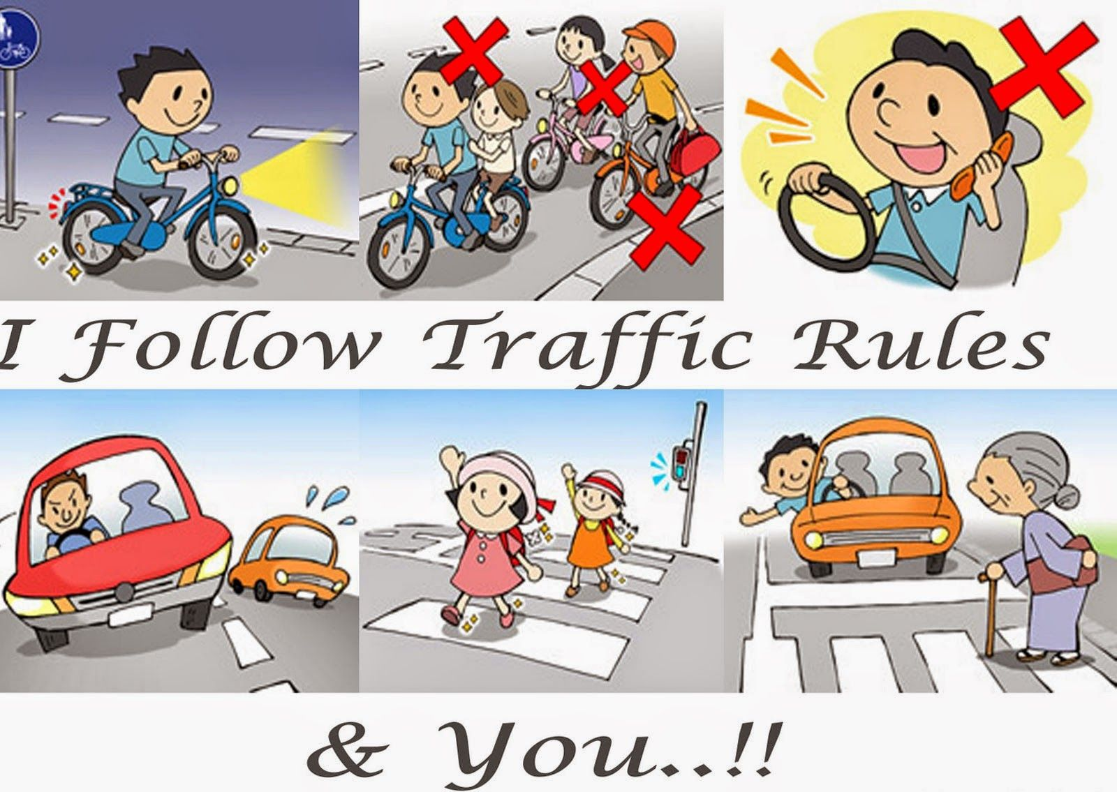 Know The Traffic Rules & Regulations know more http