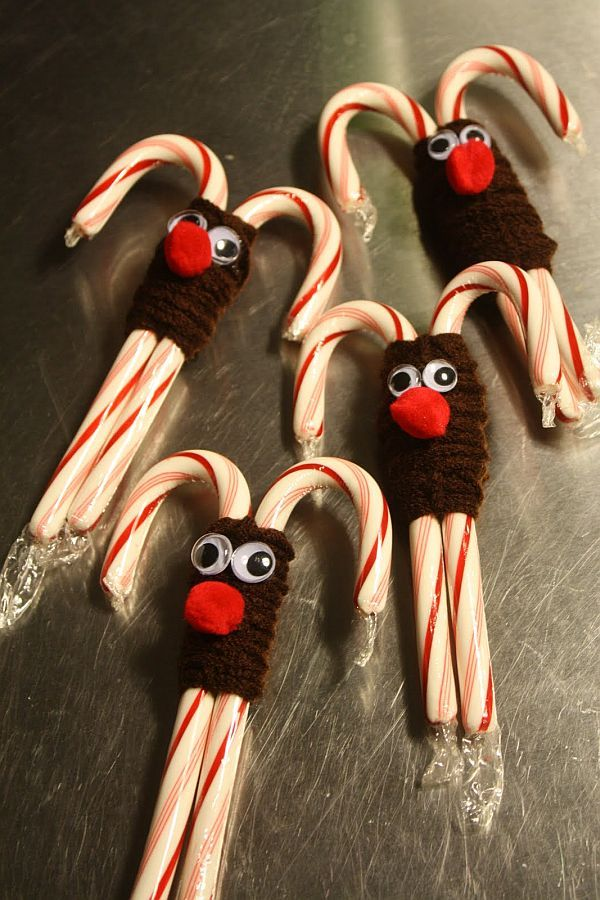 Christmas Decoration Ideas for Kids Homemade, Candy cane