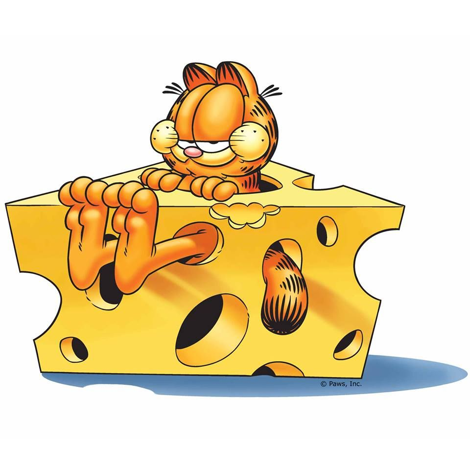 Get CHEESY Its National Cheese Lovers Day Garfield