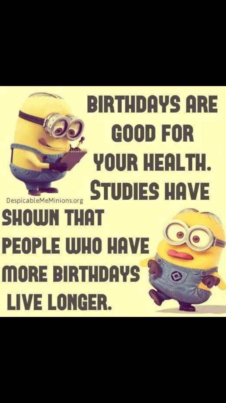Minions, birthday funny bone Pinterest Birthdays
