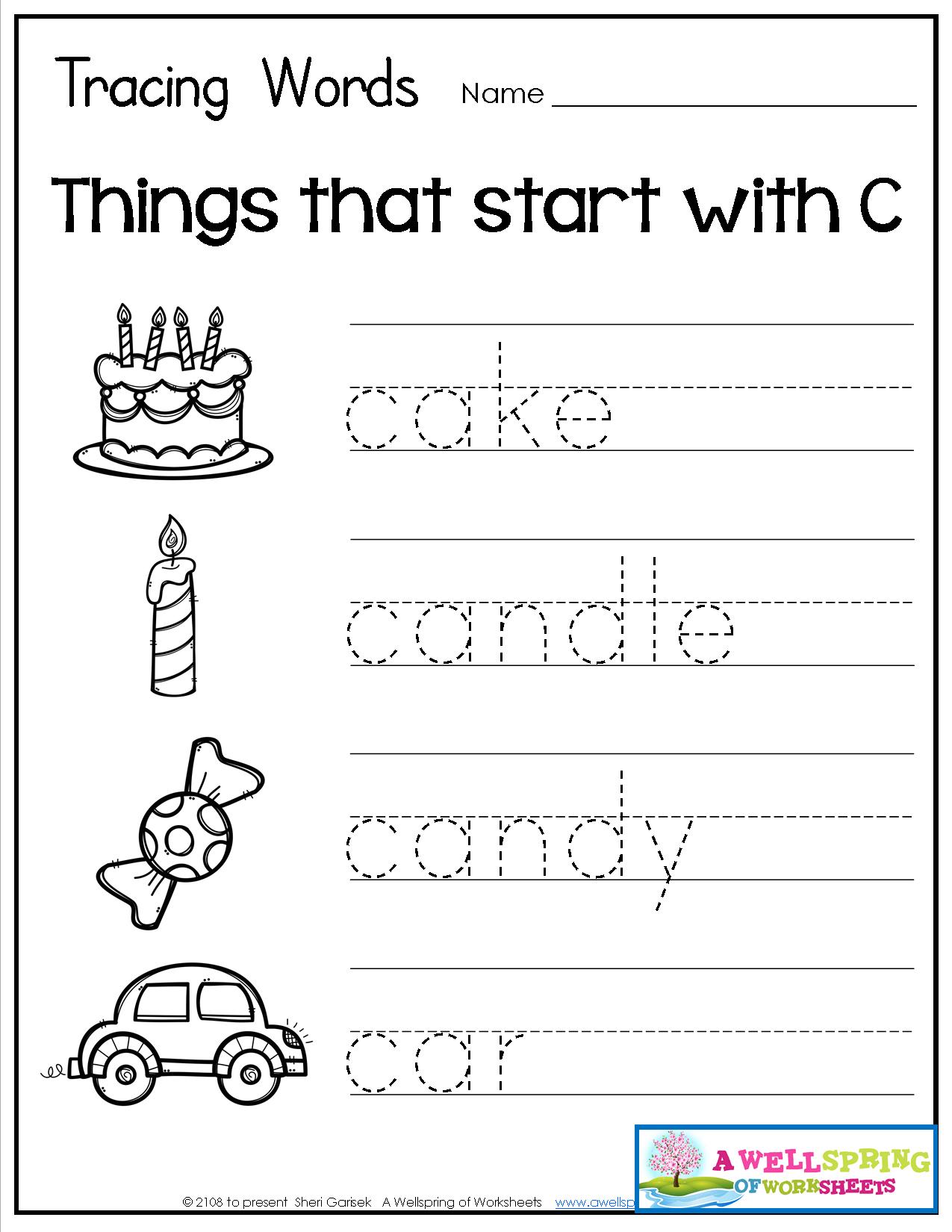 Grammar Identification Worksheet For Kindergarten