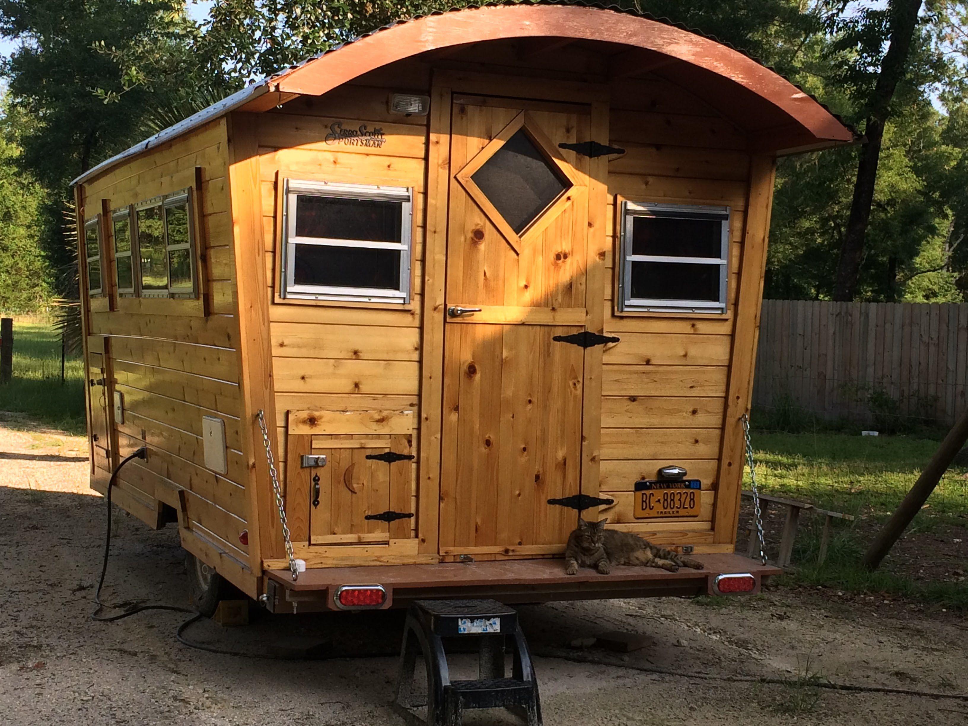 Building a Gypsy Wagon NOW (Tiny House, RV, Vardo
