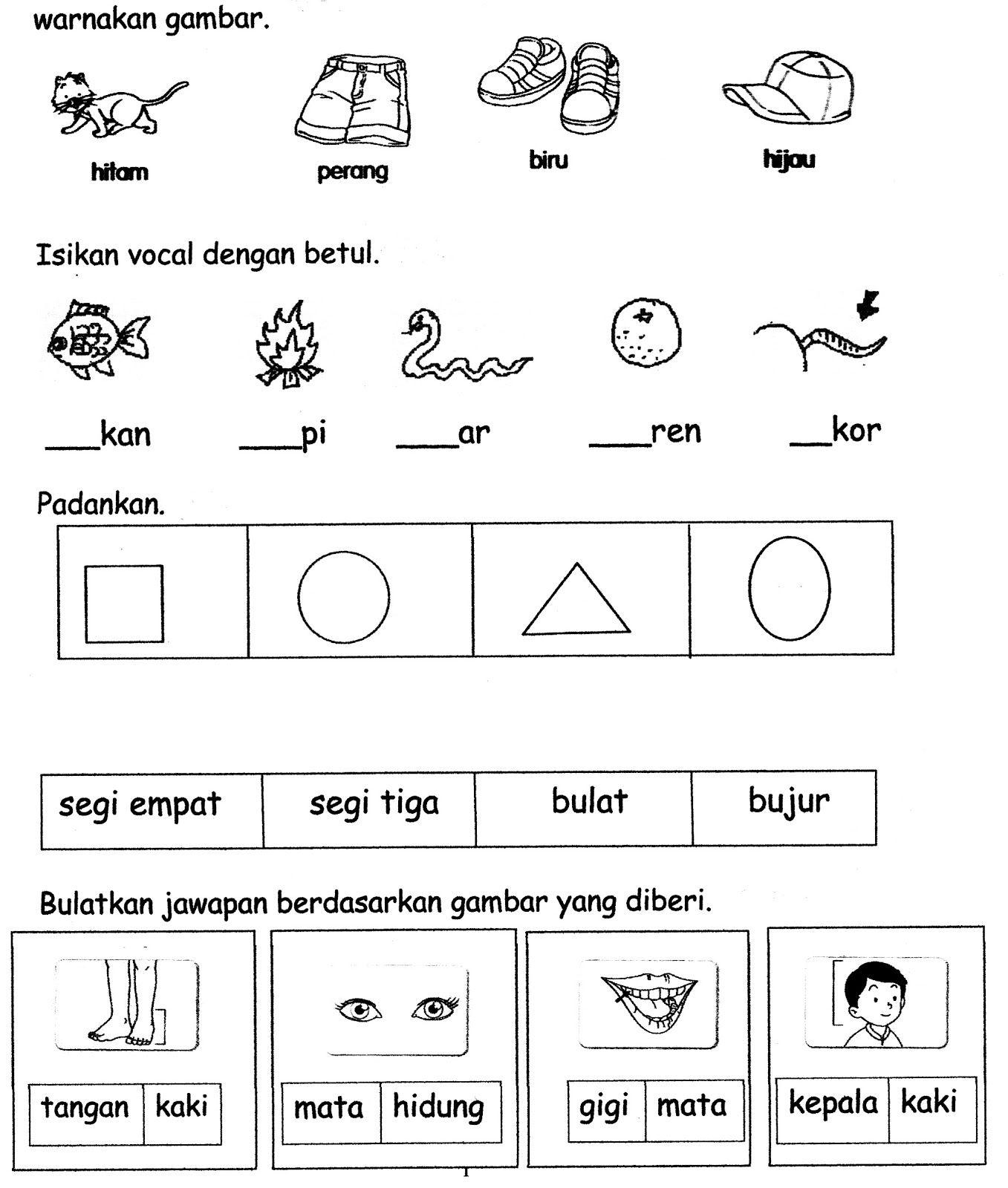 Contoh Kertas Kerja Bahasa Arab