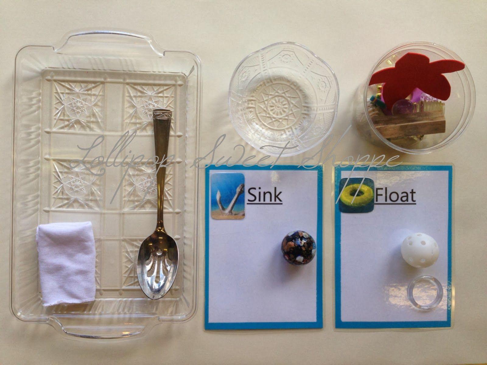 Sink Or Float Montessori Work