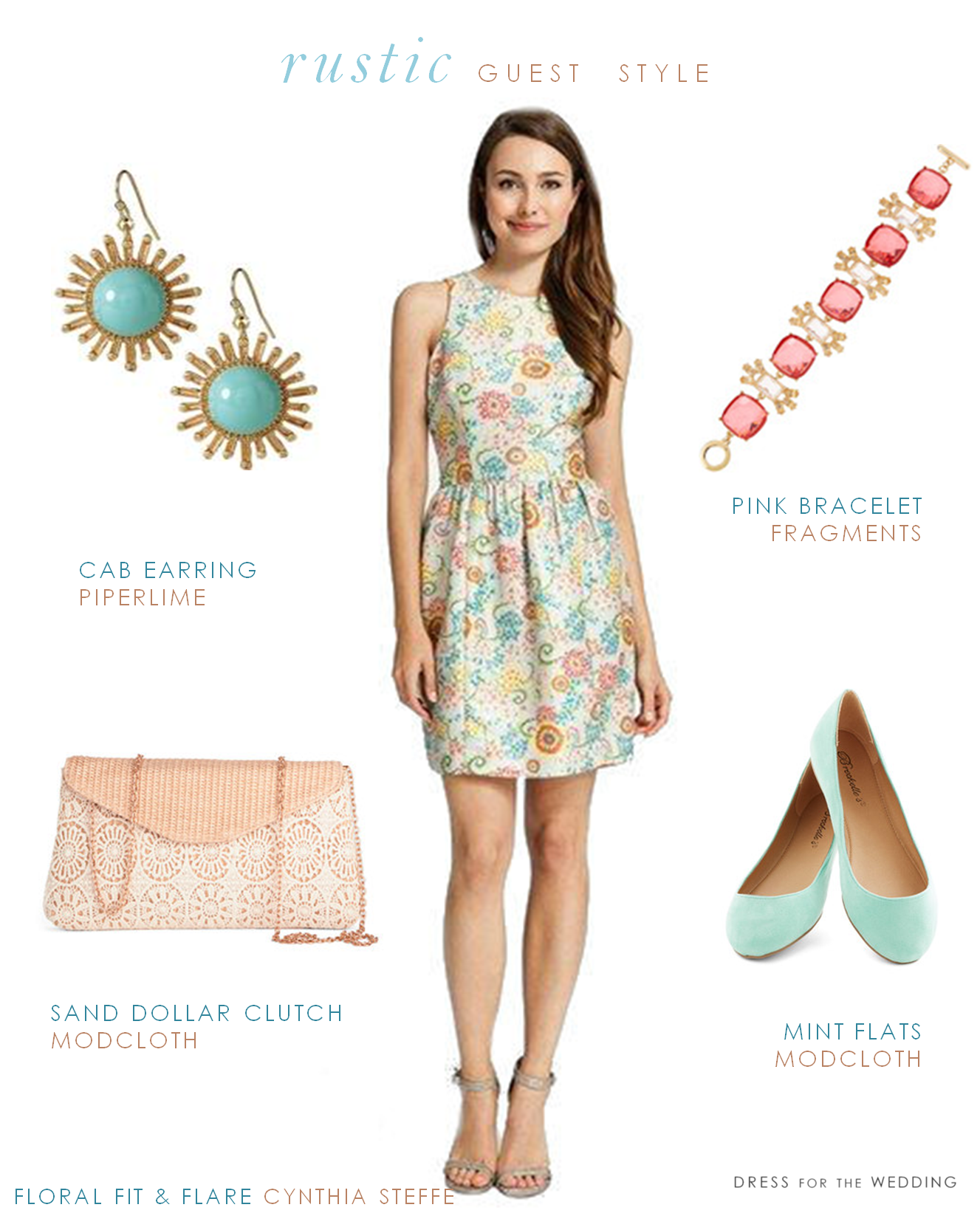 What Should a Guest Wear to a Rustic Wedding? Dress
