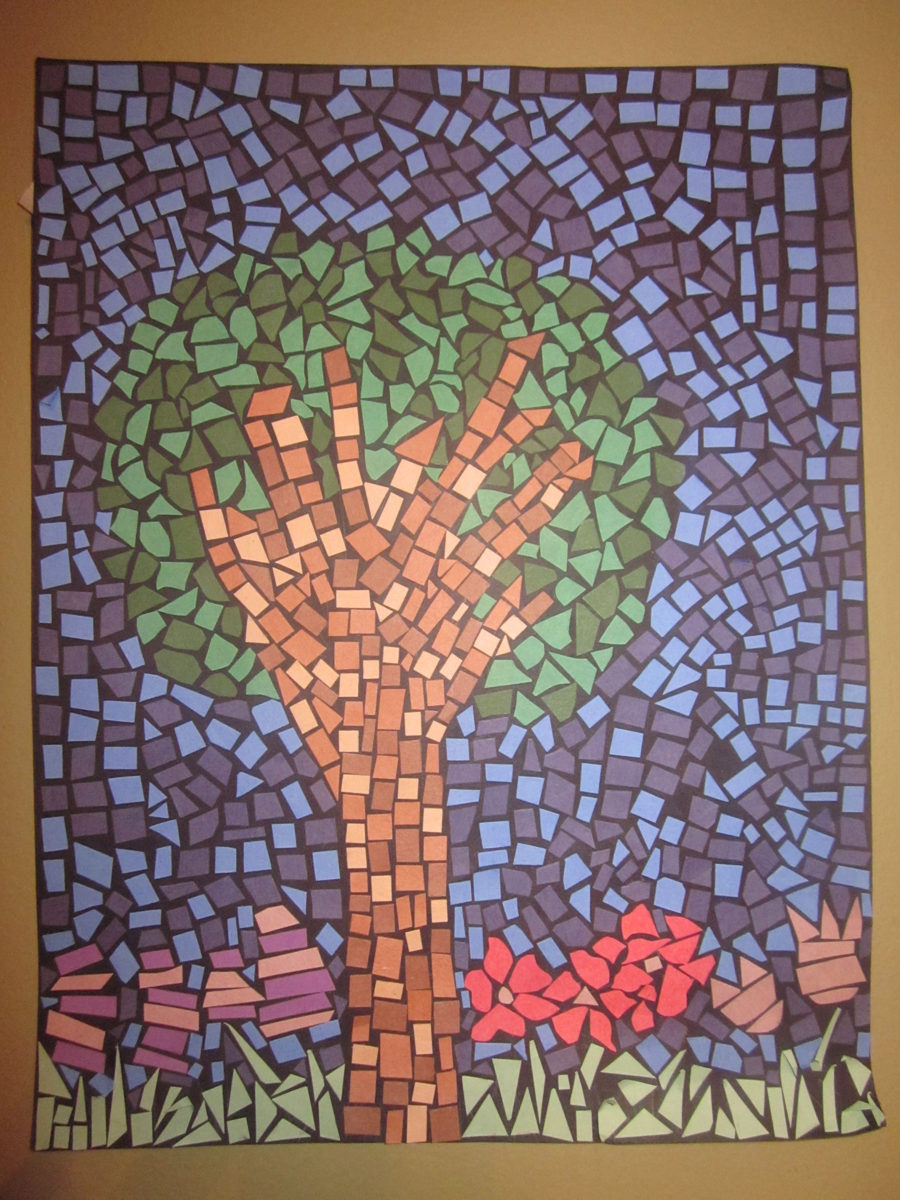 Paper Mosaic Sarah Leboeuf Creative Projects Find Me On