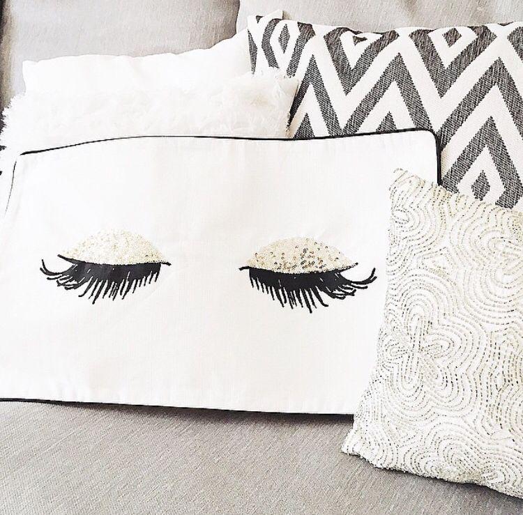 HampM Lash Pillow Home Decor Pinterest Pillows Room And Bedrooms