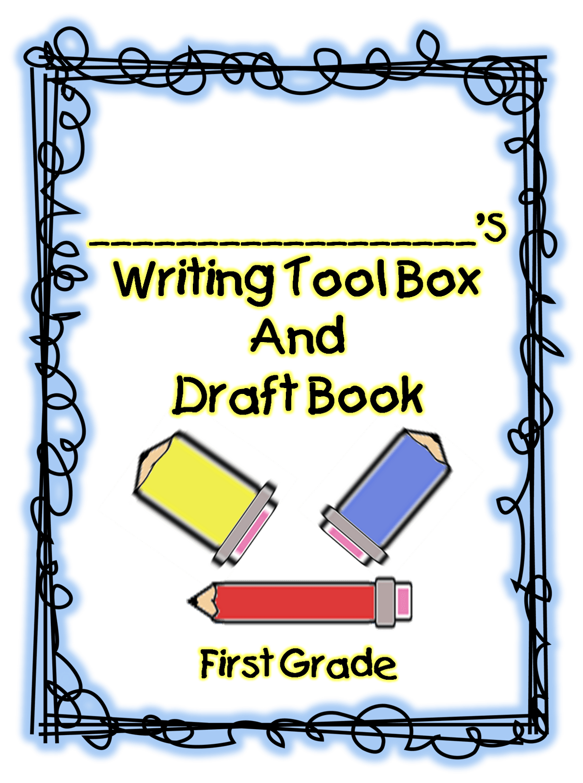 First Grade Wow Writer S Tool Box Free Printable Unit On 1st Grade Writing