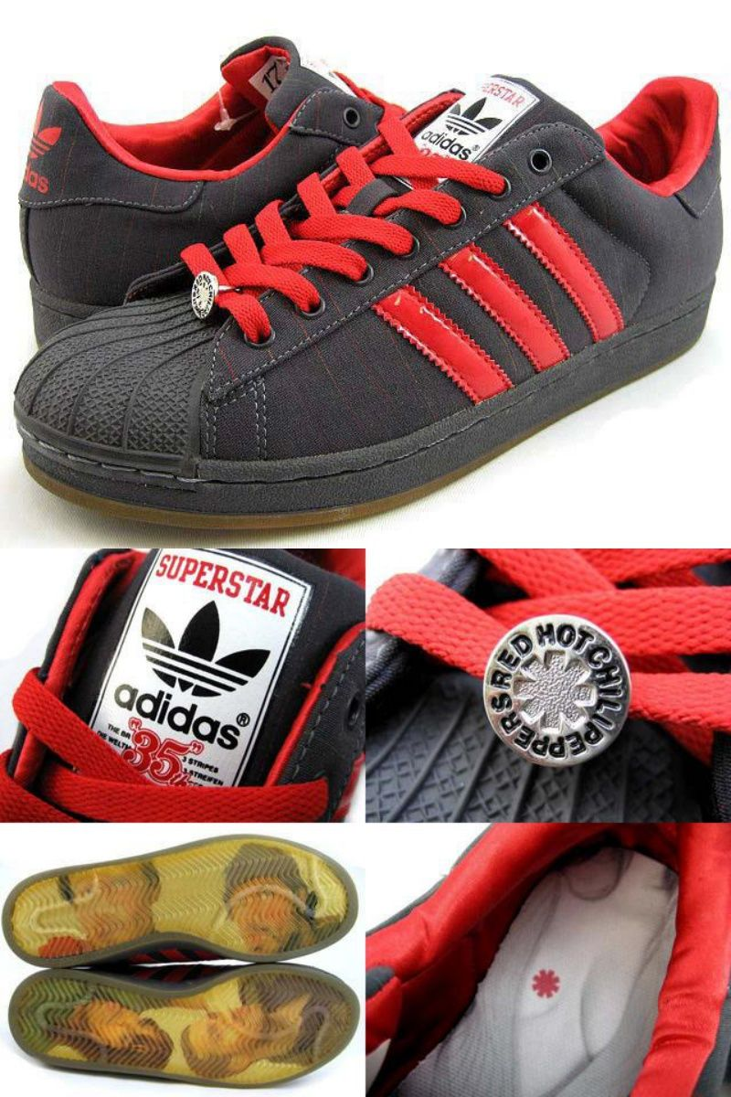 Red Hot Chili Peppers x Adidas Superstar My Style