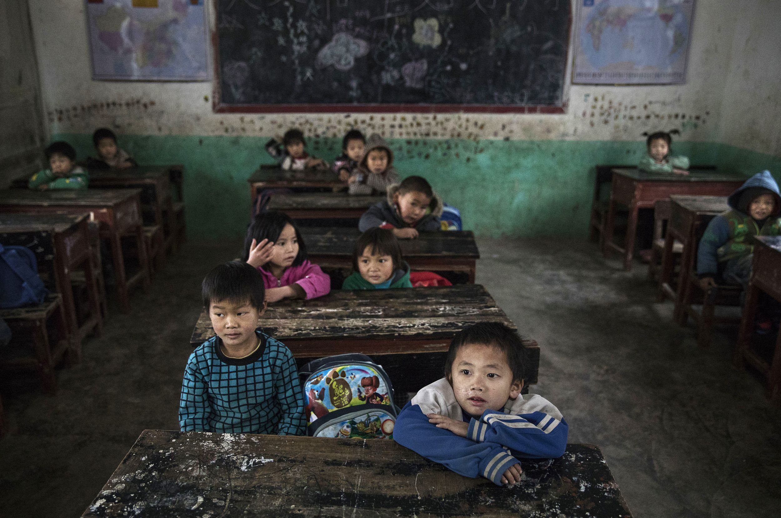 Explore Daily Life For China S Left Behind Children