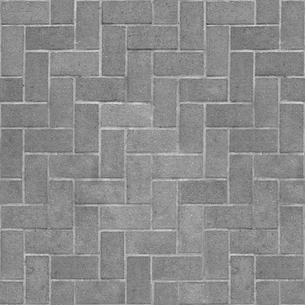 45 Degree Herringbone Brick Pattern