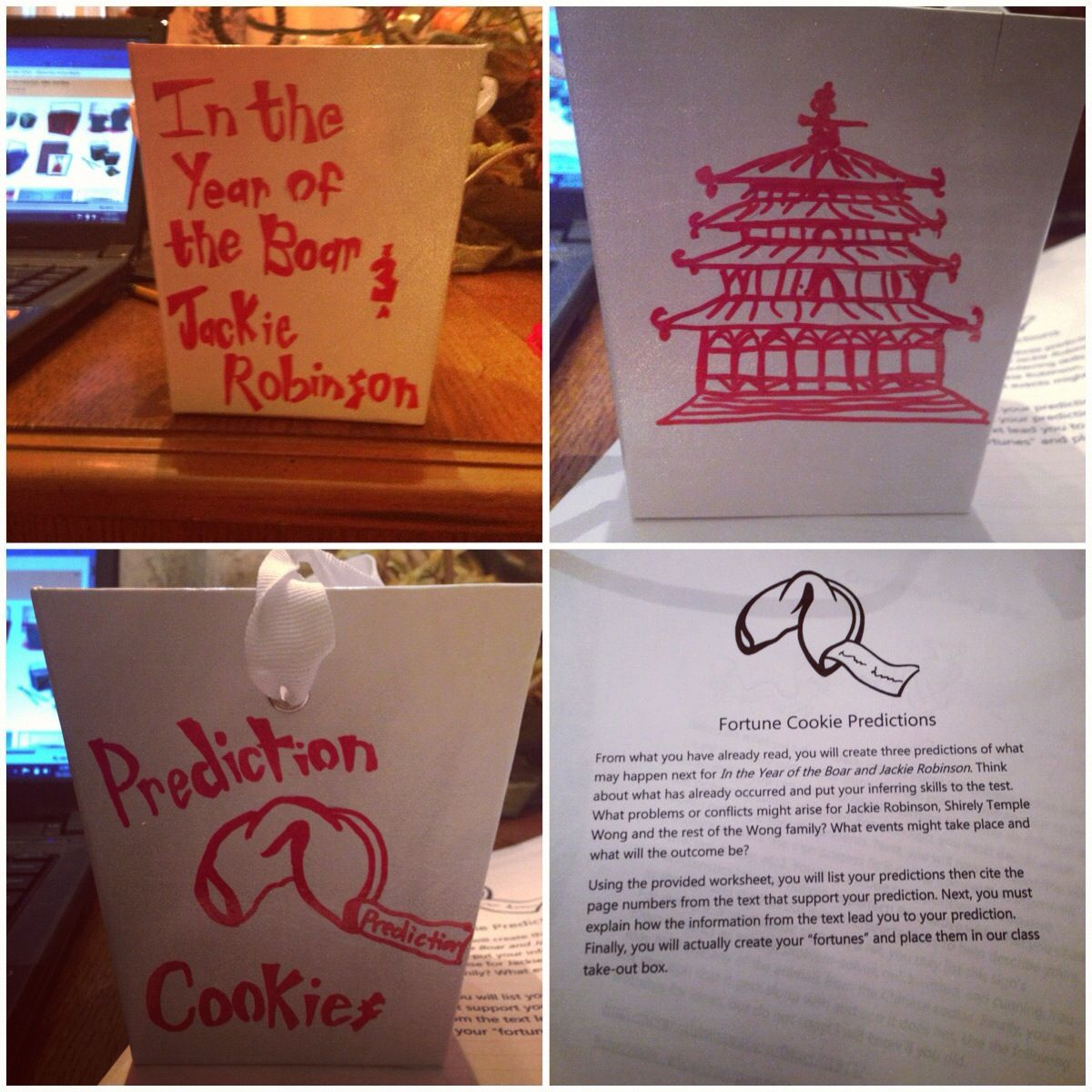 A Making Prediction Center For In The Year Of The Boar And Jackie Robinson Home Made Chinese