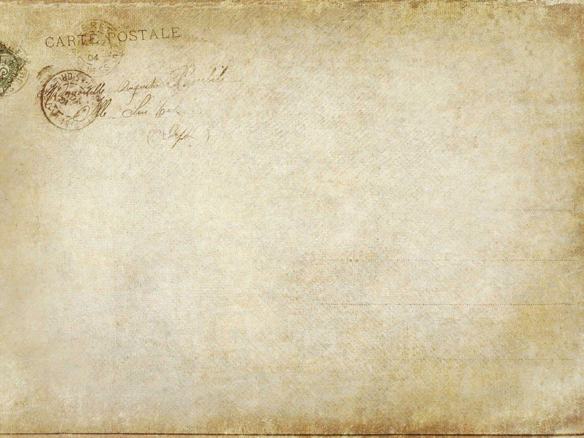 Art Classical Letter Paper Vintage PPT Background