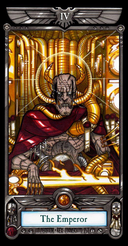 Imperial Tarot The Emperor Bibliotheca Adeptus