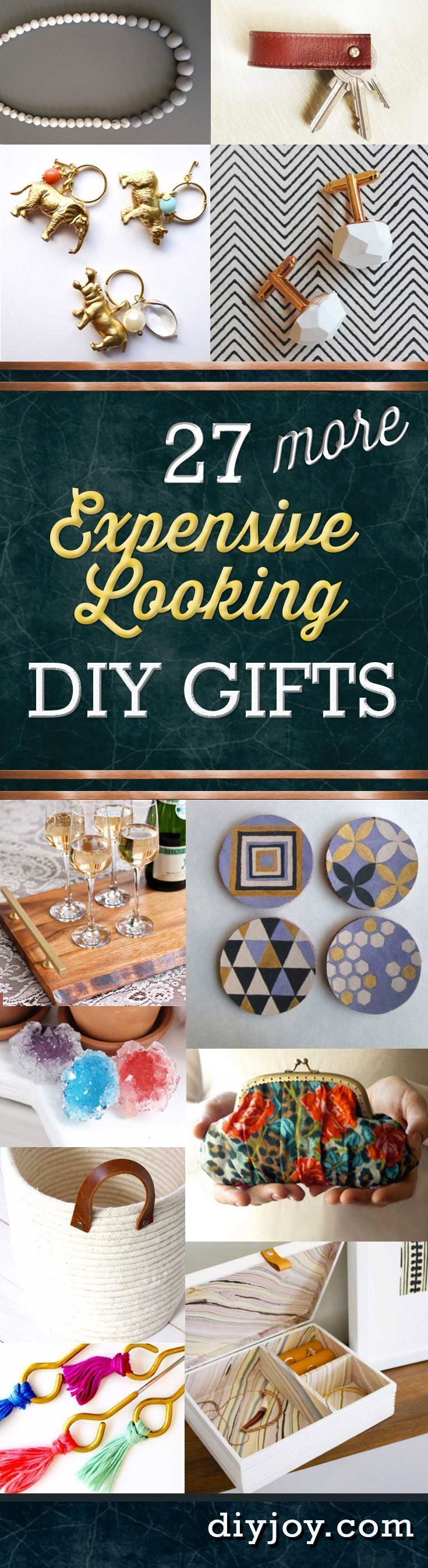 27 MORE Expensive Looking Inexpensive Gifts Gift crafts