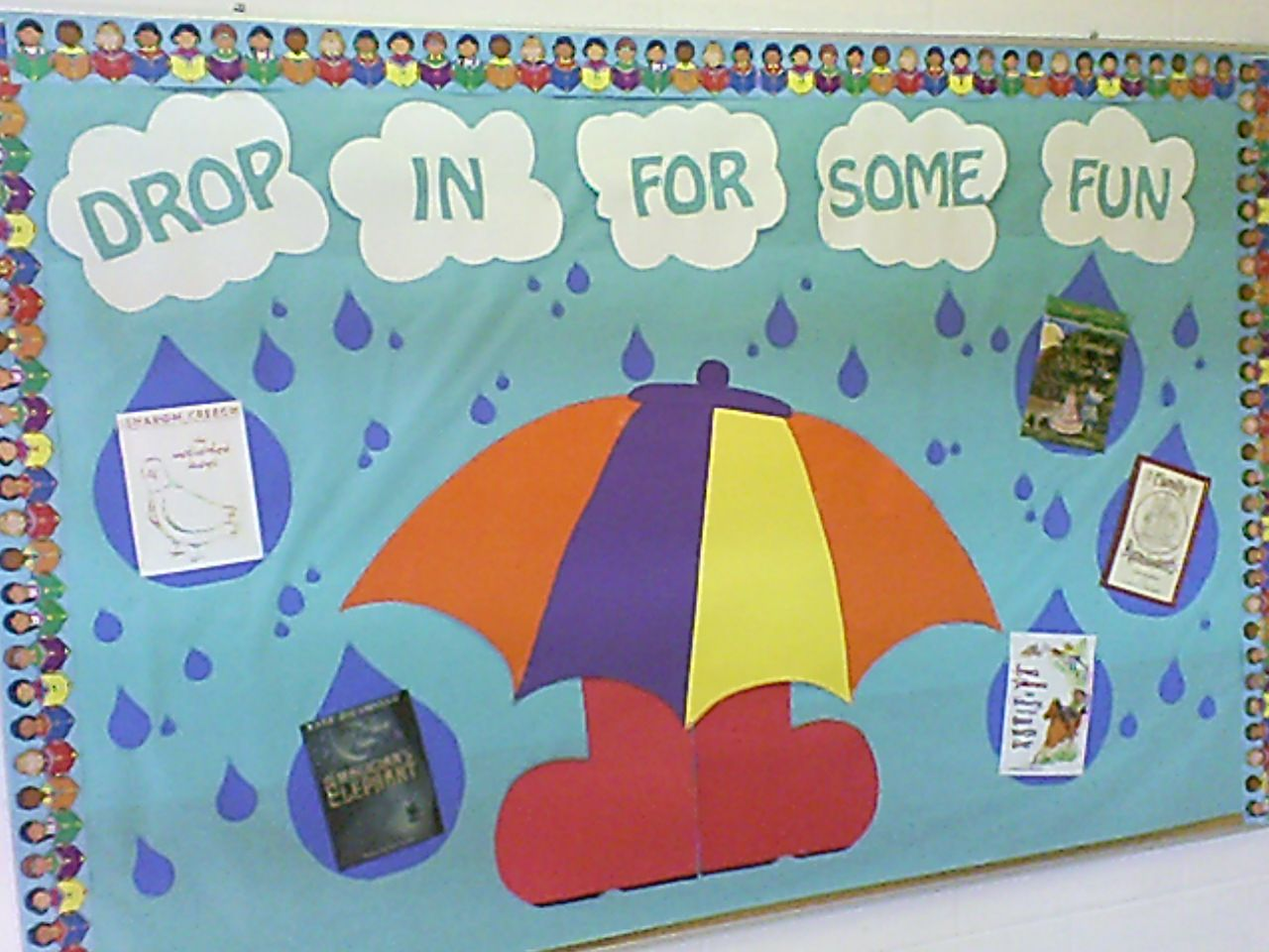 Drop In For Some Fun Is A Cute Idea For A Spring